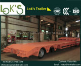 3axle Lowbed Semi Trailer 13.8m 50ton