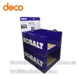 Contador Pantalla de papel de cartón de caja de exhibición Pop Pantalla Cubo