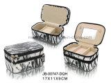 doos van de Juwelen Croco van het Ontwerp van de Manier van de Gift van de bevordering de Bruine Materiële Kleine