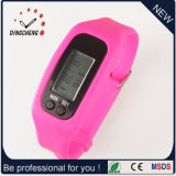 Vigilanza del braccialetto del silicone dell'orologio del pedometro della vigilanza del regalo (DC-001)