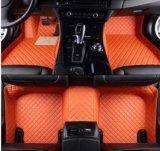 Couvre-tapis Inon-Toxique de véhicule de l'ensemble complet XPE pour Audi A6l avec les fentes 2012-16 de cuvettes