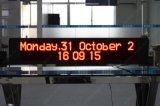 Sinal de exibição de LED de ônibus de mensagens em movimento