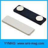 Étiquettes de nom de magnétique personnalisée Nom d'insignes de l'aimant de métal