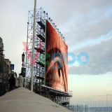 Visualizzazione di LED Fullcolor esterna P5 di pubblicità di HD video grande