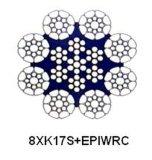 조밀한 물가 및 플라스틱 채워진 철사 밧줄 - 8xk17s+Epiwrc