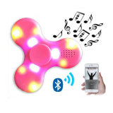 Luz LED Bluetooth Fidget mano Spinner Toy con altavoz