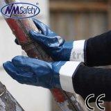 Nmsafety Jersey Shell Full Nitrile Bleu NBR Gant de travail robuste