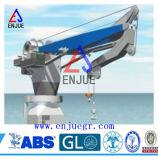 Grue extraterritoriale de porte-fusée de marine semi pliable hydraulique de bras