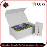 UV rectángulo regalo de papel caja plegable para productos electrónicos