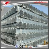 Dn100 longitud de acero galvanizada invernadero del tubo los 6m