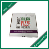 E flauta caja de pizza brillante caja de papel corrugado