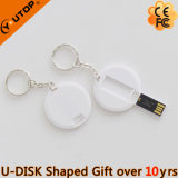 Mini carte ronde USB Flash Drive comme cadeau intelligent (YT-3108)