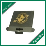 Certificados FSC papel negro ondulado caja de envío