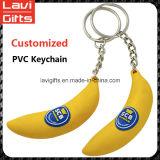 Venta al por mayor de alta calidad de PVC llavero personalizado