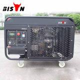 バイソン((h) 10kVA中国) BS12000dceのポータブル販売のための1年の保証のAir-Cooled 10kwによって使用されるディーゼル発電機