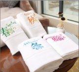 ホテルのための時間の平野の綿タオルの配達