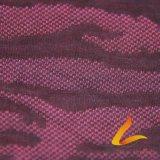 Tela elástica feita malha de Lycra do Spandex do poliéster para a aptidão do Sportswear (LTT-CT#)