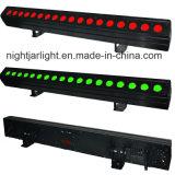 18PCS LED 벽 세척 표시등 막대 RGBW LED 세탁기 4in1 단계 DMX 화소 세척 빛
