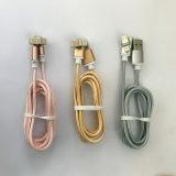 cable de carga USB magnético de la transmisión de datos personalizados