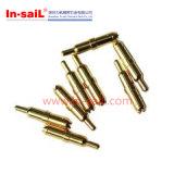 Штыри CNC подвергая механической обработке латунные Contect меля и очищая