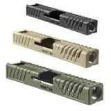 Пистолет защиты топливораспределительной рампы случай тактического пистолет аксессуаров Fab обороны TS-G17 тактики кожу сдвинуть крышку для Toyota 17/22/31/37 BK/TAN/MOD