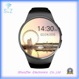 Bluetooth Kw18 Phone Call Fashion Relógio LCD Andriod Smart Watch com Multi-Function