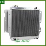 Un radiatore di alluminio pieno di 3 righe per gli accessori di Tj del Wrangler della jeep