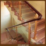304 الفولاذ المقاوم للصدأ + الألومنيوم سطح الزجاج حديدي ل في الهواء الطلق ( SJ- 768 )