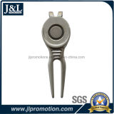Die Casting Zinc Alloy Gold Divot Tool Free Mold