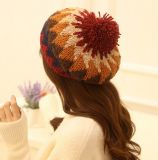 Шлем крышки берета Knit зимы типа способа теплый