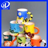 320 мл керамические мультфильм кружка молока кружку кофе чашку чая чашку управление кружка рождественских подарков