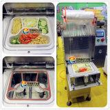 Máquina automática vertical del lacre del rectángulo de los alimentos de preparación rápida Fs-600