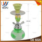 Narghilé di vetro Shisha Wasserpfeife di figura della bottiglia mini