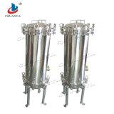 Custodia di filtro a tre fasi della cartuccia dell'acciaio inossidabile multi