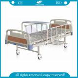 Cer ISO-AG-Bys107 genehmigte die 2 Funktions-Möbel Krankenhaus-manuelles Bett für Verkauf