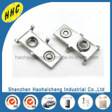 Kundenspezifisches Metall, das Nickel überzogenes Messingselbstverbinder-Terminal stempelt