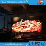 P6.25 pleine couleur intérieure panneau LED de location pour l'étape