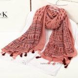 Fashion Colorfule Paisley foulard imprimé dans 100% polyester (HP02)