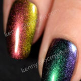 Camaleón Magic Mirror Multi-Chrome Pulimento De Clavo en polvo de pigmento