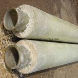 Tubo o tubo dell'isolamento termico del poliuretano della vetroresina