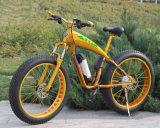 뚱뚱한 타이어 눈 산 모래 바닷가 전기 자전거