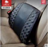 Soporte trasero del coche de la almohadilla lumbar del amortiguador-Rojo