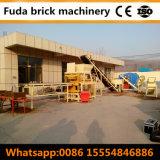 Bloc de verrouillage de brique de Lego de la terre comprimée faisant la machine Uz