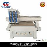 Ranurador de madera del CNC de la máquina del CNC del cambio auto del eje de rotación (VCT-1530ASC3)