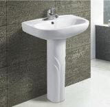 Bacino di basamento di ceramica della stanza da bagno moderna calda di vendita