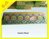 Testa della guarnizione della fodera di marca di Sakola per il motore Cyliner (dB58/6BG1T/S6K/S4K/6D95/6D102/D6D/D7D) dell'escavatore