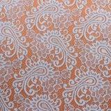 Organza кружева кружева Вышивка ткани химических веществ вышивка дизайн ткани, свадебные платья, сдобное кружева,