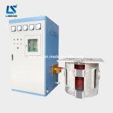 Poupança de energia média freqüência forno de fusão por indução de equipamentos de refinação de Ouro