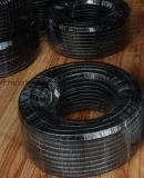 鉱業1sn 2sn R1 R2用の高圧ワイヤ編組ゴム油圧ホース