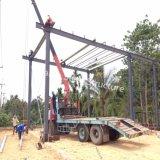 Estructura de acero prefabricada de construcción del Taller de Tailandia